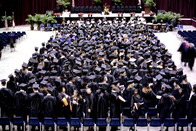 Download Graduation ceremony stock photo. Image of career, grad - 12468944