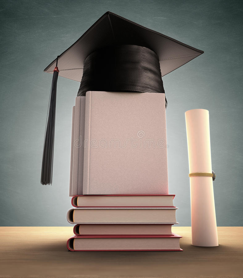 Download Graduation Cover stock illustration. Image of clipping - 39706049