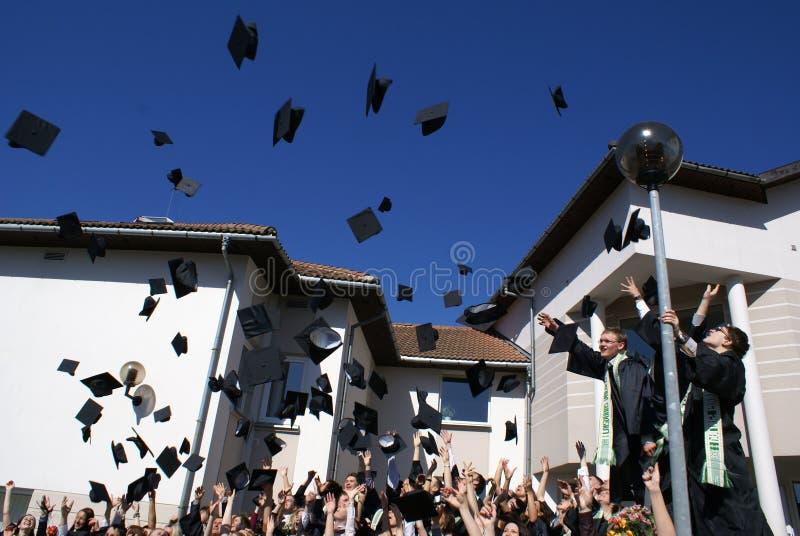 Graduation day royalty free stock image