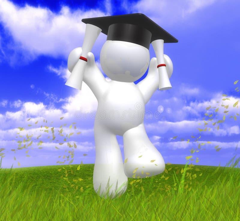 Download Graduation day happy icon stock illustration. Image of achieve - 9391108
