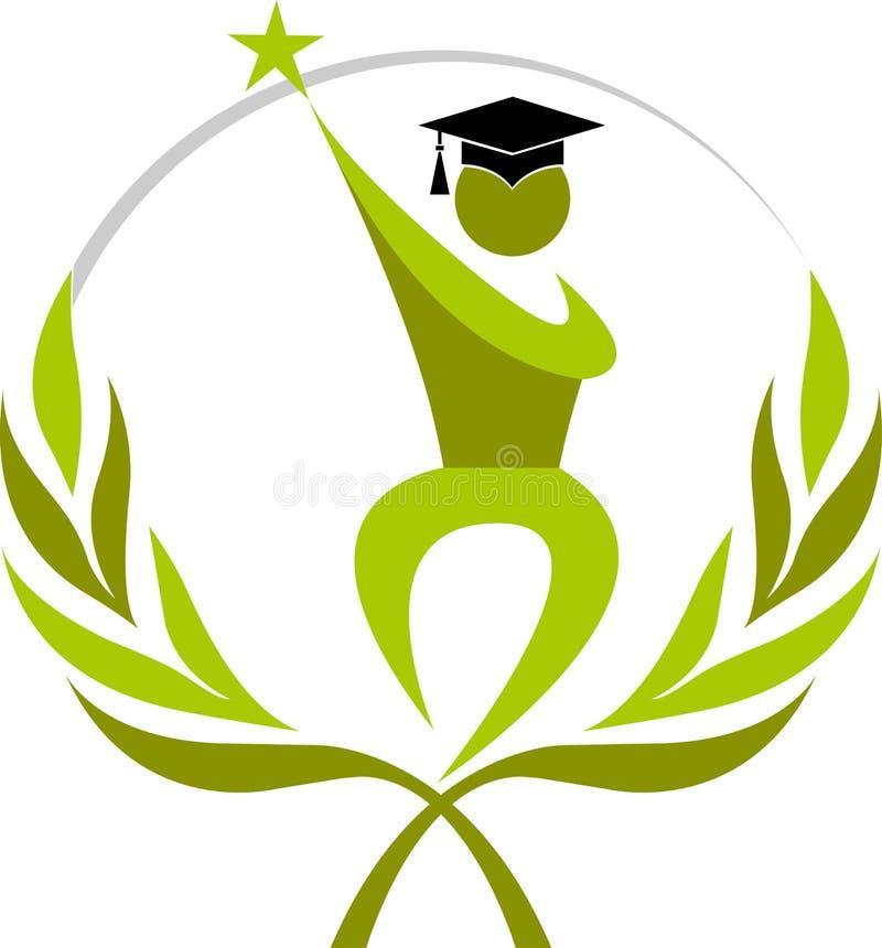 Graduation de gagnant illustration de vecteur