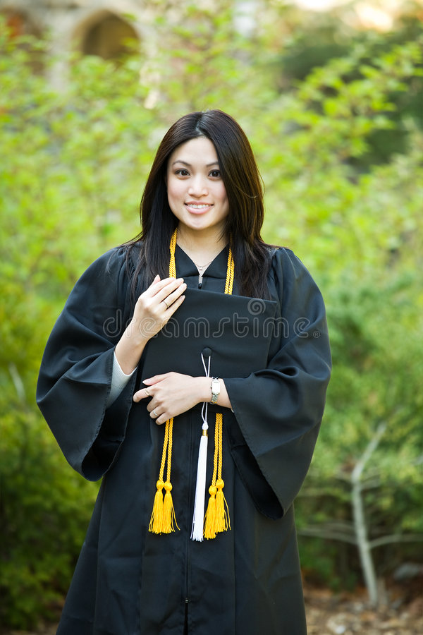 Download Graduation girl stock image. Image of gown, female, lady - 9157615