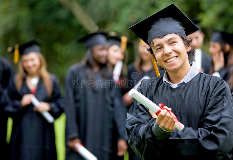 Download Graduation Group Of Students Stock Photo - Image: 6548420