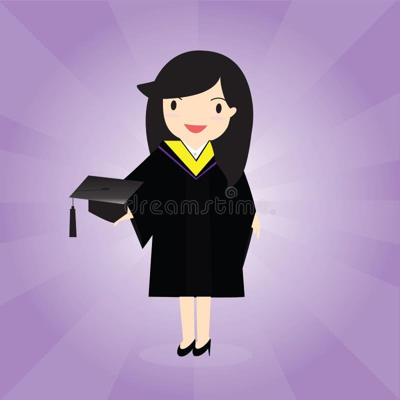 Graduation royalty free illustration