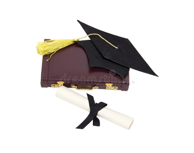 Graduation job royalty free stock image