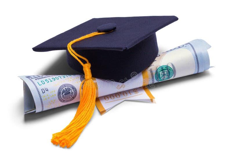 Graduation Money Degree stock photography