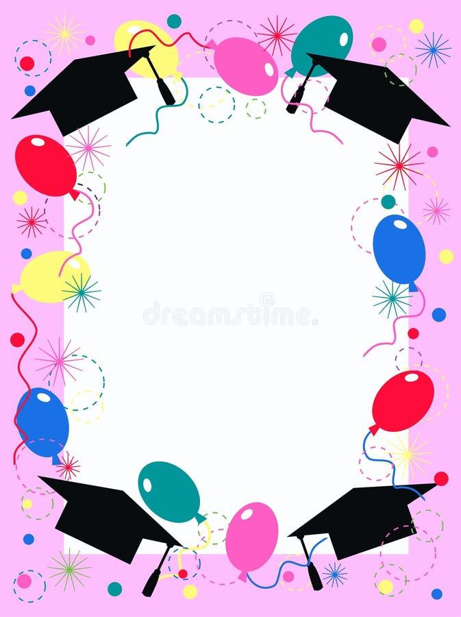 Graduation Party Invitation Stock Vector - Illustration of ...