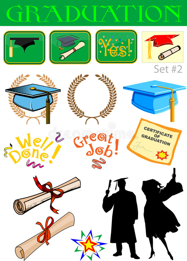 Download Graduation Related Illustrations Stock Vector - Image: 5213722