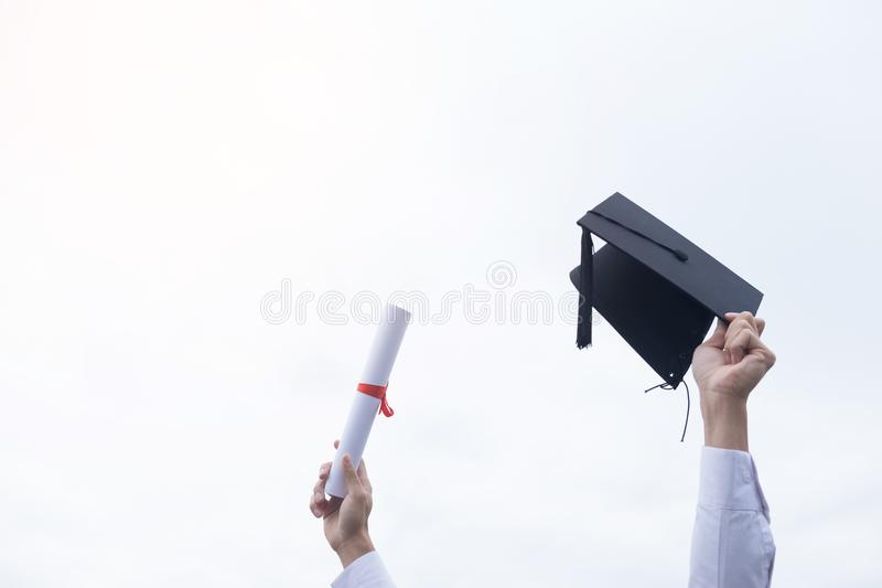 Graduation Student Commencement University Degree Concept, group stock photos