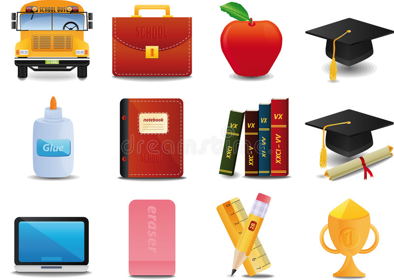 Graduation, université et éducation illustration de vecteur