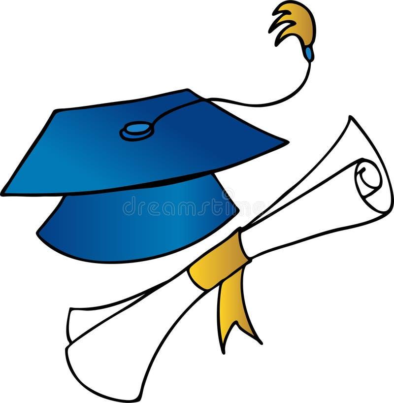 Graduazione illustrazione vettoriale