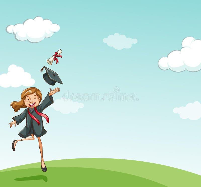 Graduazione royalty illustrazione gratis
