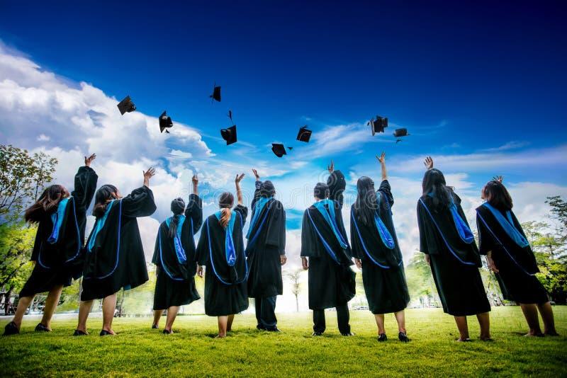 Graduazione fotografia stock