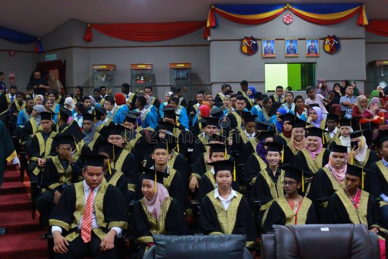 Graduazione di High School immagine stock