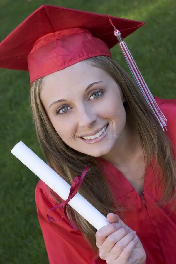 Graduieren stockfotografie