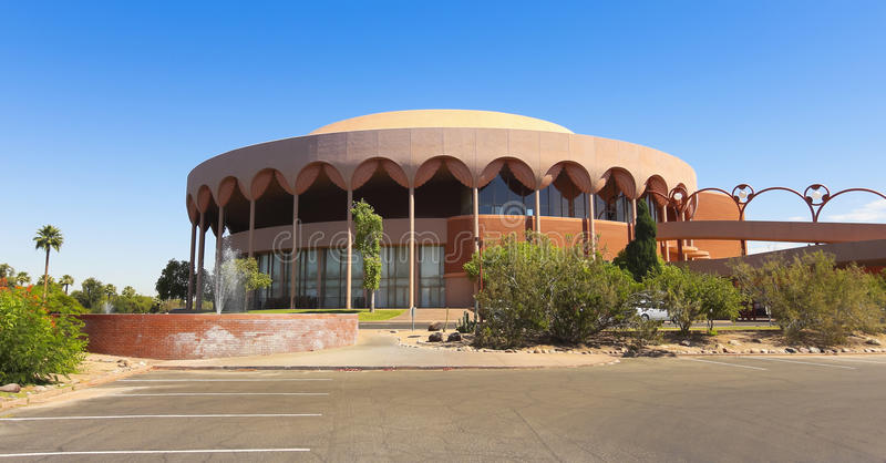 Grady Gammage Memorial Auditorium Shot, Tempe foto de stock