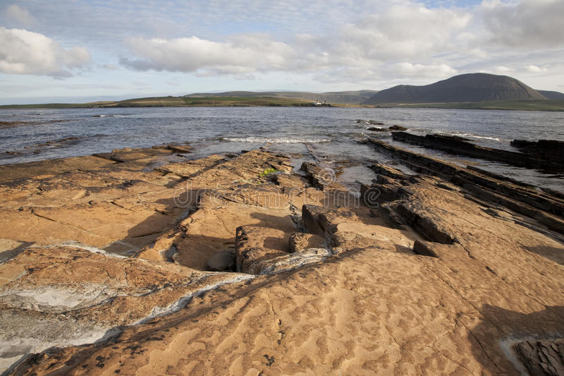 graemsay hoyöar orkney arkivbilder