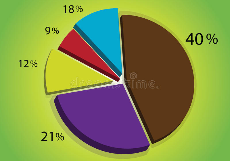 graf stock illustrationer