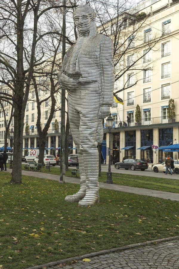 Graf de Maximilian Joseph von Montgelas à Munich image stock