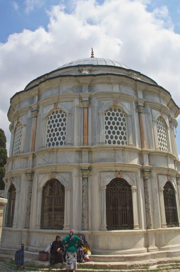 Graf Eyup Istanboel stock afbeeldingen