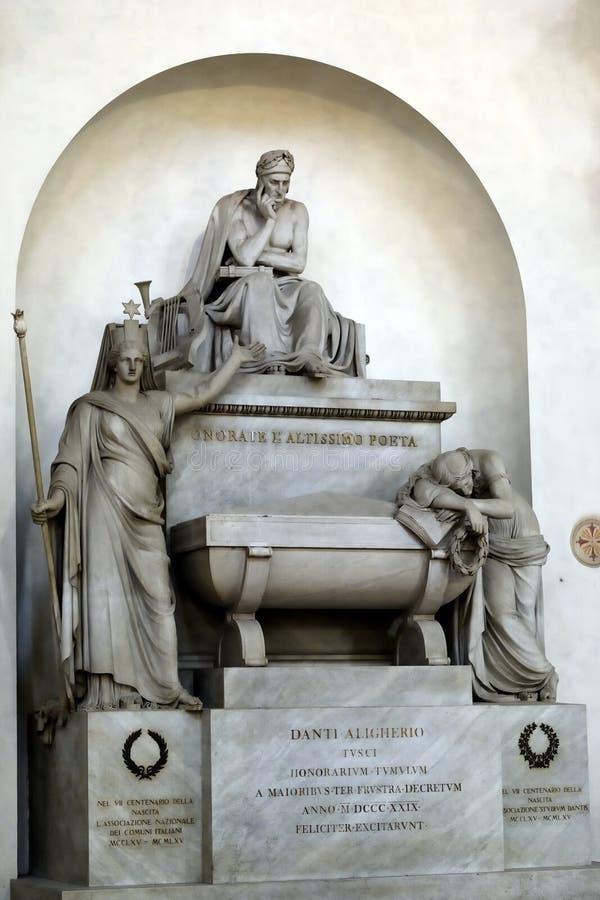 Graf van Dante royalty-vrije stock fotografie