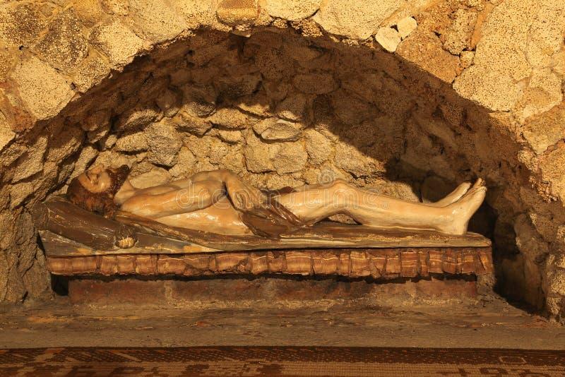 Graf van Jesus stock afbeeldingen