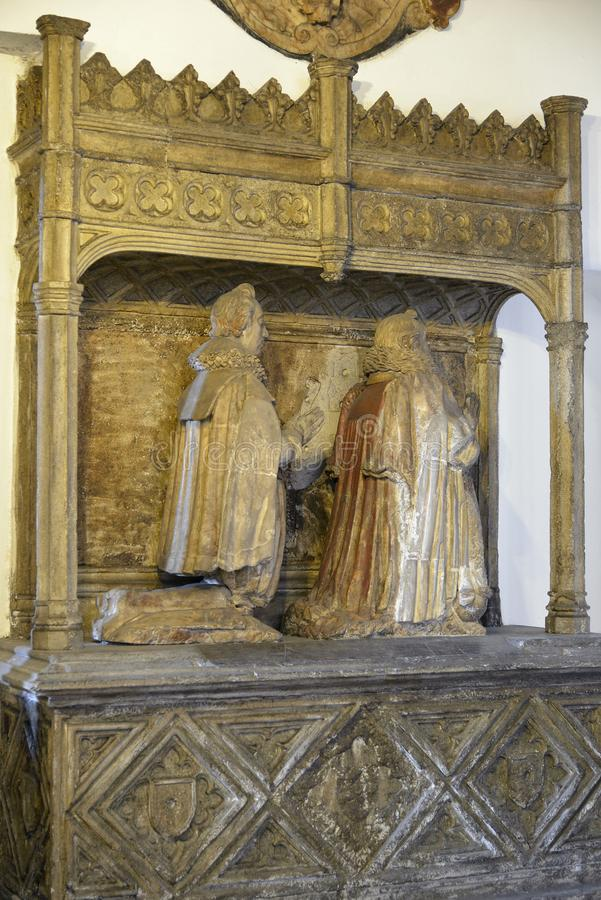 Graf van John Aldworth en zoon Francis royalty-vrije stock foto's