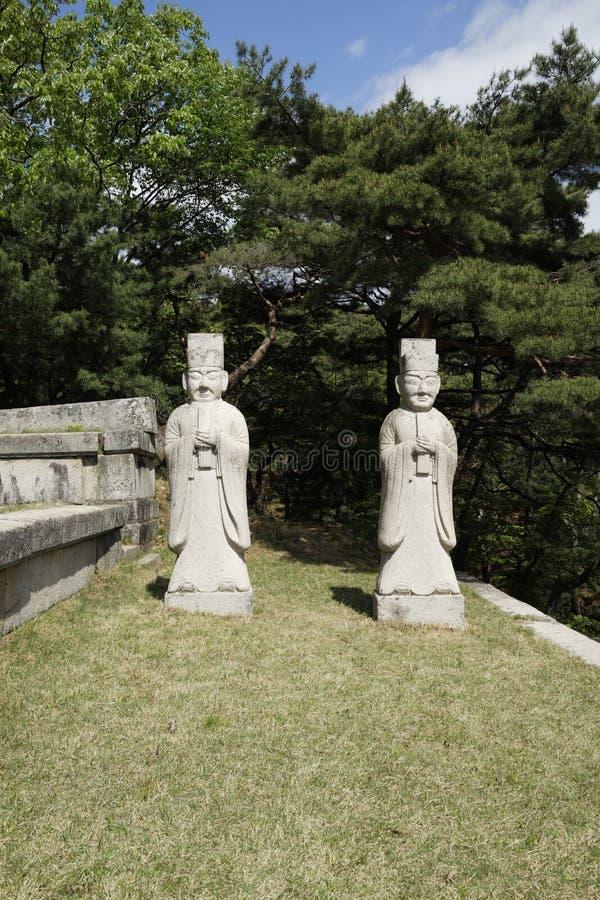 Graf van Koning Kongmin, Kaesong, DPRK stock afbeeldingen