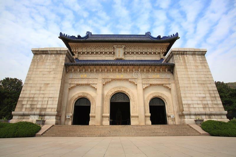 Graf van Zon Zhong royalty-vrije stock fotografie