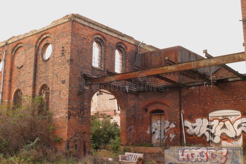 Grafetti industriale immagini stock