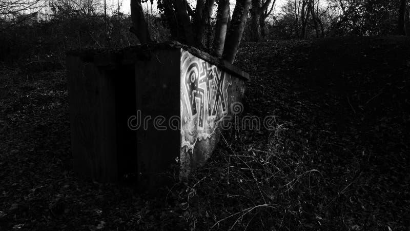 Graff foncé image stock