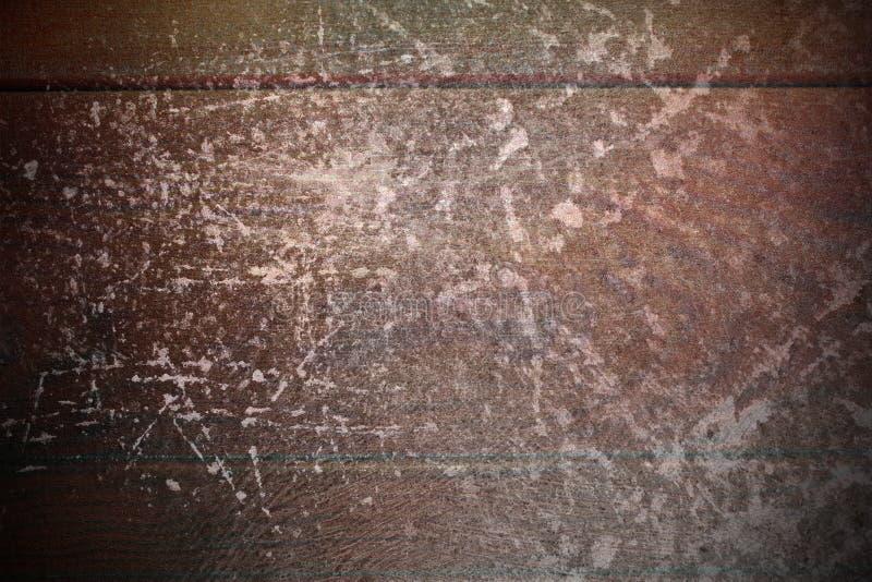 Graffi dell'estratto sulla superficie del mogano immagine stock libera da diritti