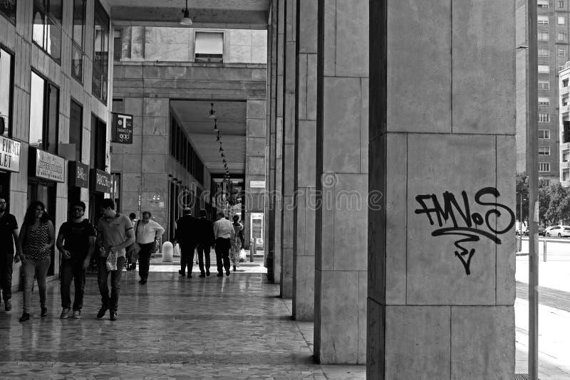 Graffii photographie stock