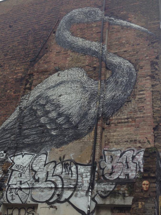 Graffiti à Londres image stock