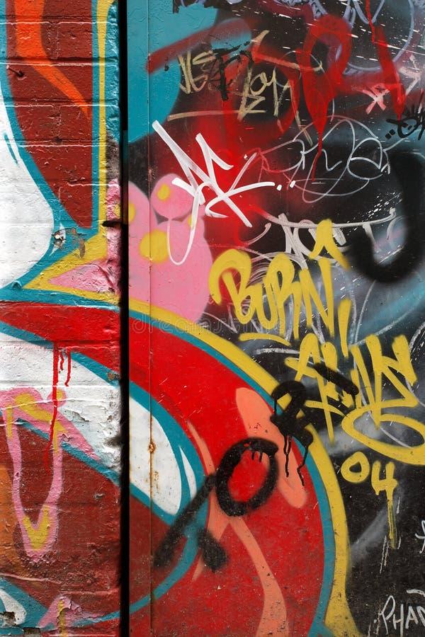 graffiti ścianę wandalizmu obraz stock