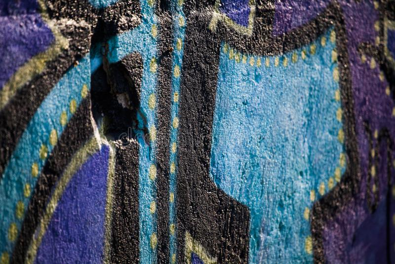 graffiti ścienny zbliżenie zdjęcie royalty free