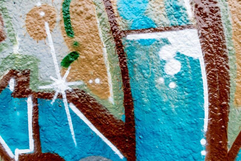 Graffiti świat fotografia royalty free