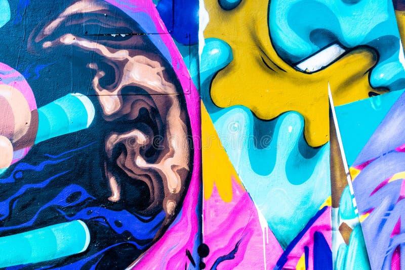 Graffiti świat ilustracja wektor