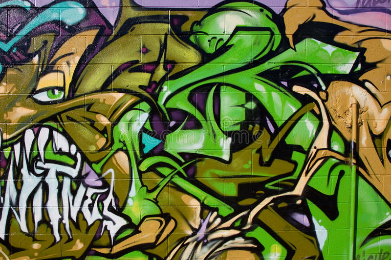 Graffiti royalty free stock photo