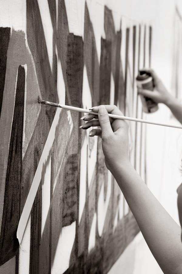 Download Graffiti stock image. Image of monochrome, destruction - 15214337