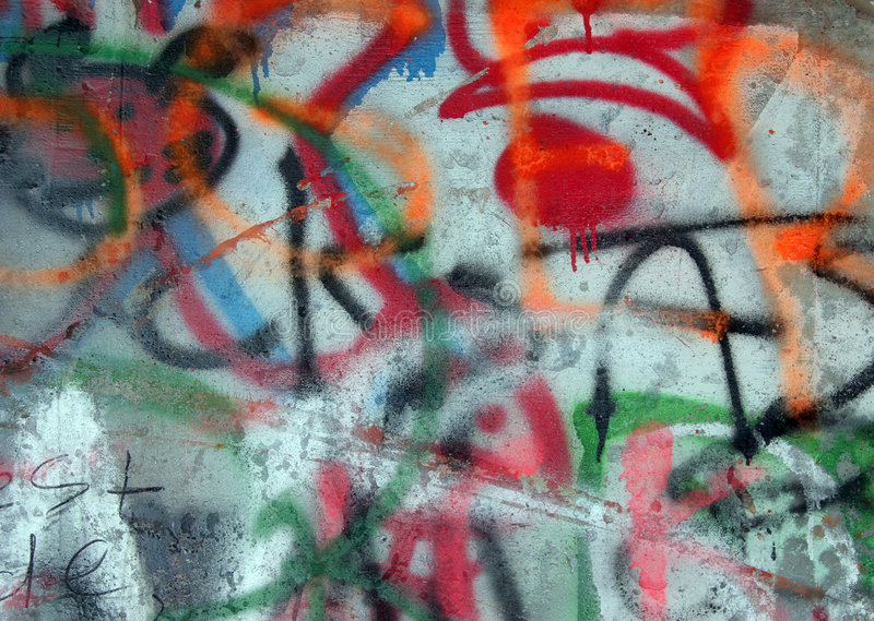 Graffiti royalty-vrije stock foto