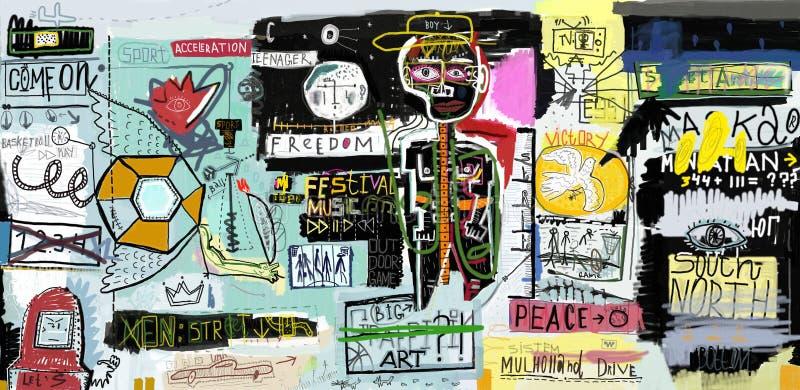 Graffiti zdjęcie royalty free