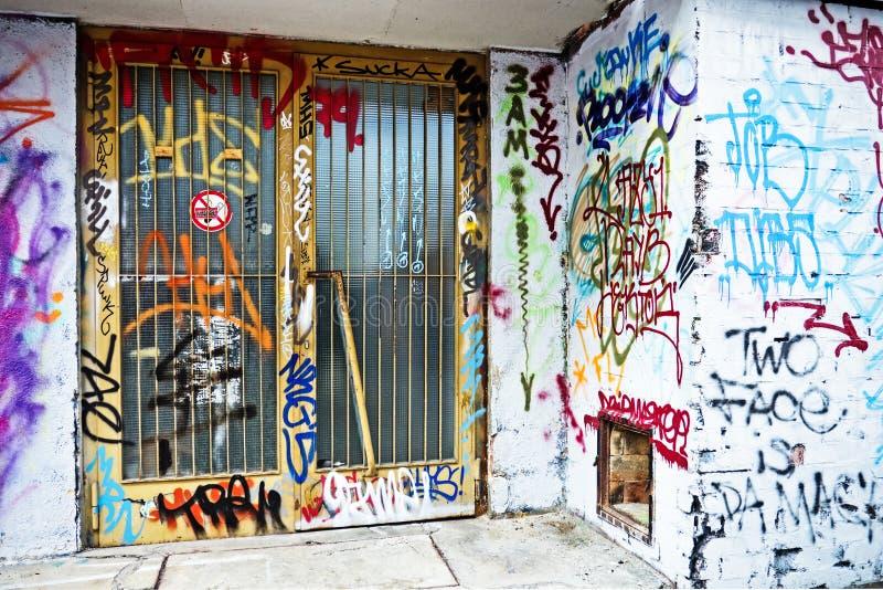 Graffiti zdjęcia royalty free