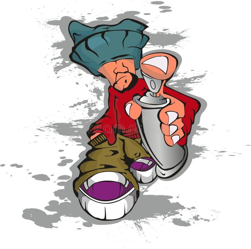 Graffiti stock illustration