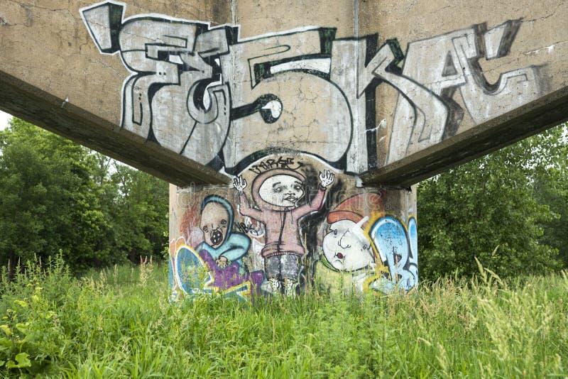 Graffiti Obraz Stock Editorial
