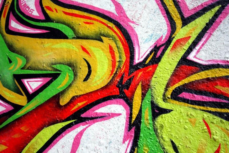 Graffiti stock fotografie