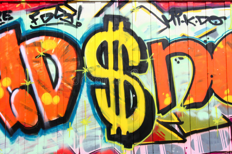 graffiti obrazy royalty free