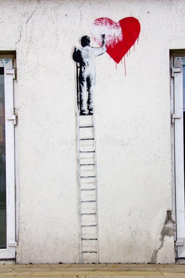 graffiti immagine stock