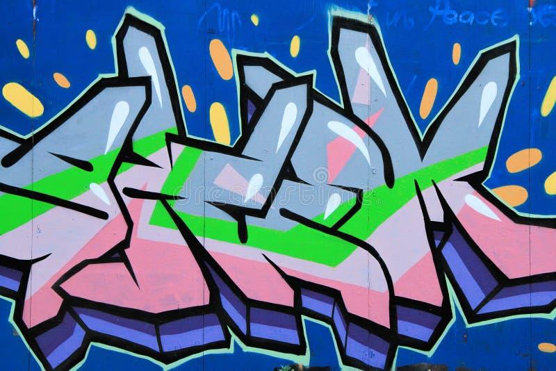 Download Graffiti image stock éditorial. Image du expression, houblon - 45368614