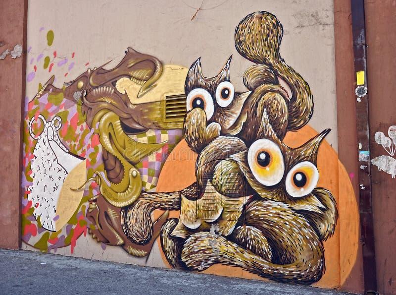 graffiti illustration de vecteur